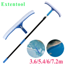 swimming pool cleaning equipment with brush 12ft/34ft swimming pool brush swimming pool cleaner