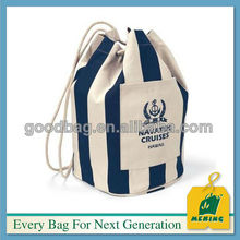 MJ-0208 Full color high quality drawstring cotton bag China factory
