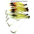 CH14SF4 Wholesale OEM manufacturer In stock Silicone artificial Shrimp Fishing Lure Bait