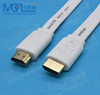 OEM flat noodles Gold plated high definition AV audio and video cable high definition interface cable