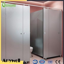 Amywell top selling waterproof customized HPL phenolic board toilet cubicles