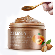 Private label cosmetic beauty product skin care almond body scrub for exfoliator