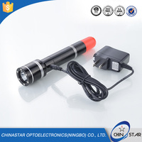 Multifunction High Power Police Mini LED Rechargeable Flashlight