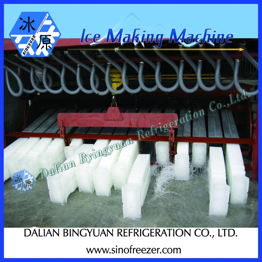 Big block ice machine for ice factory