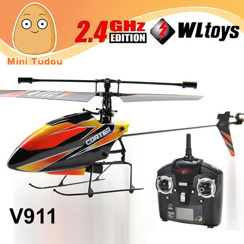 hot helicopter RC 4CH Outdoor wltoys v911