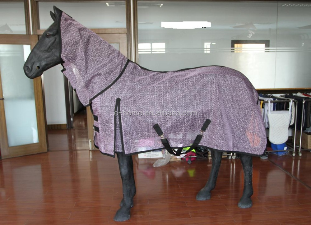 nylon summer horse rug with Combo neck