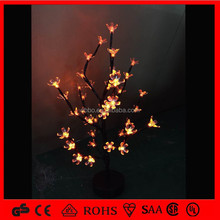 Artificial White lighted branch tree 24V for sale