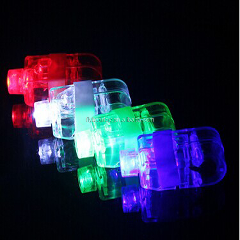 Flashing LED finger lights rings Laser light party disco festival Flashing toy