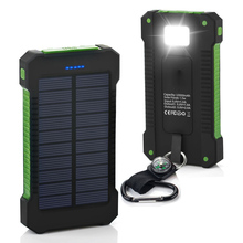 Short time delivery portable universal 8000mah solar power bank