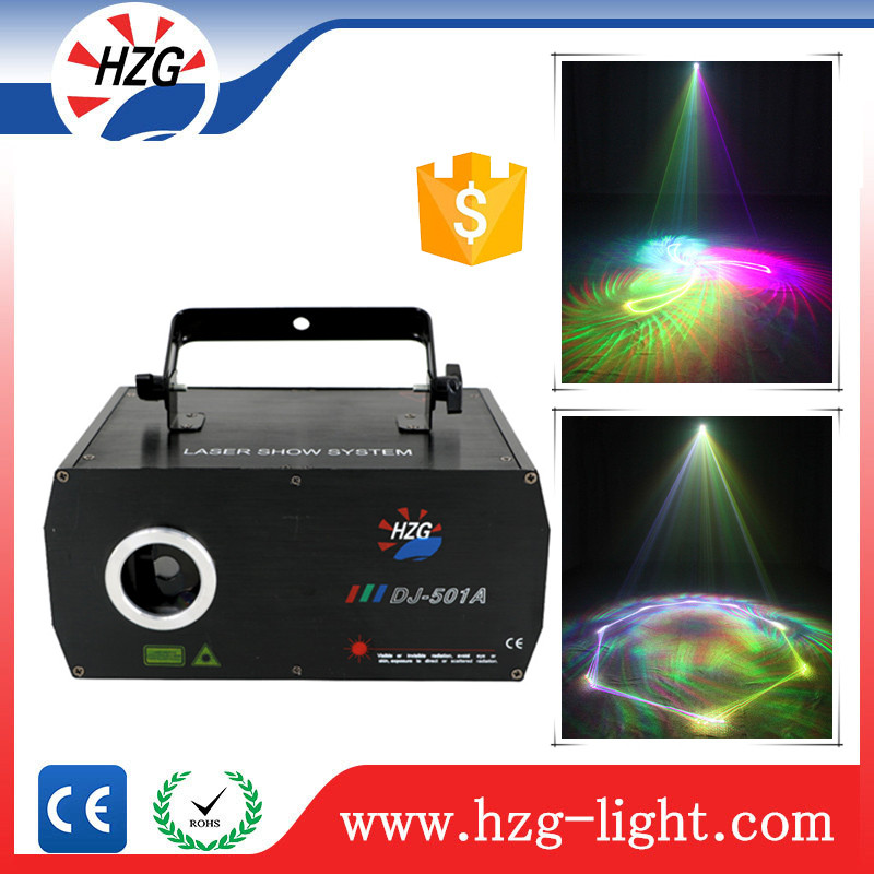Animation disco laser party light 3d stage laser light 500mw RGB laser show dmx512 disco dj stage lighting
