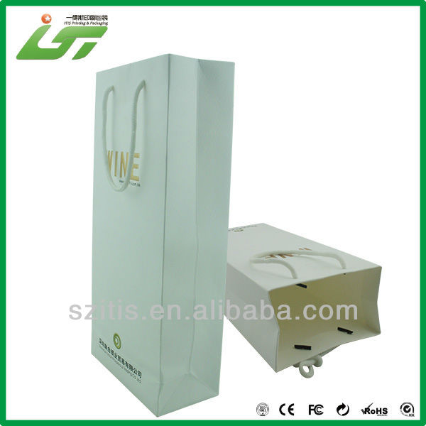 simple luxury paper packaging bag for beef jerky China printer