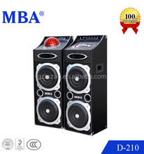 professional stage speaker with dj control panel