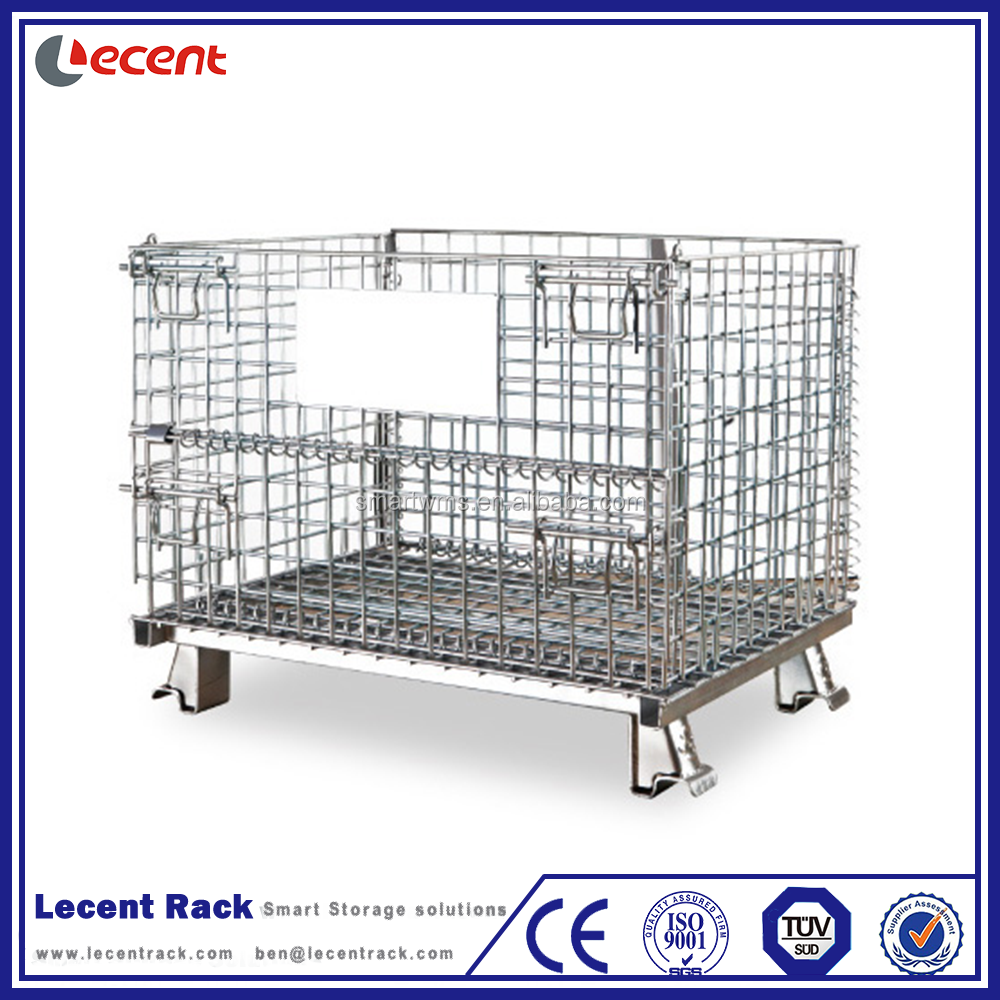 Medium Duty Steel Foldable Wire Mesh Cage