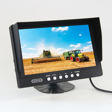DC12-24V Digital 800*RGB*480 HD 9 inch widescreen car monitor with IR Remote control