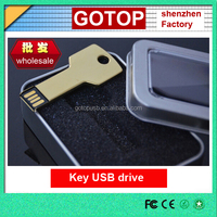 Wholesale cheap thumb drive Promotional USB drives metal USB Key flash drive any colourful OEM laser engraving logo
