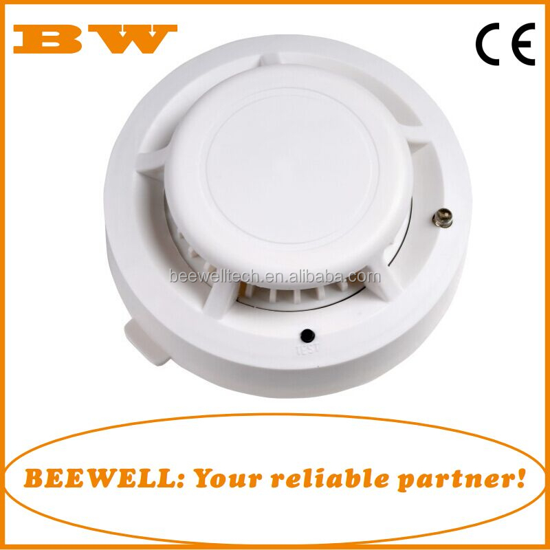 cheapest home fire alarm security 9V battery smoke detector and vibrating alarm wristband