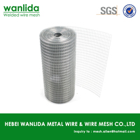 Low carbon steel galvanized welded mesh for cages ( SGS )