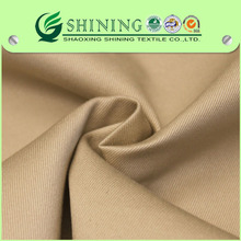 100% cotton khaki twill fabric very soft and heavy fit for pants and garments