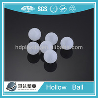 hollow plastic bouncing balls for cosmetic package