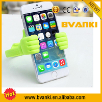Universal Soft Mobile Phone Stand Desktop Holder Factory Wholesale Silicone Cell Phone Holder multi color