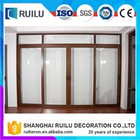 European standard size aluminium sliding glass door made in china