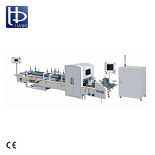 HADE High Precision Automatic Corrugated Box Folder Gluer Machine For Camera System