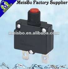 Two pins 3A/5A/7A/10A/15A/20A 250VAC mode thermal overload protection circuit breaker