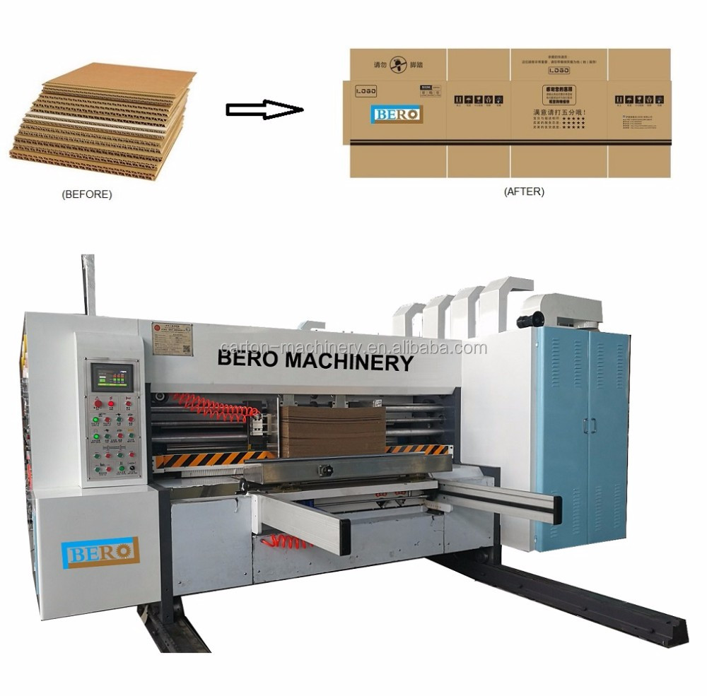 Printing flexo machine for carton