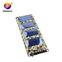 7w poly gift android solar charger case for outdoor activities
