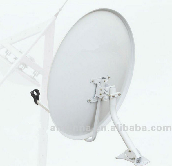 [manufacture] 60cm ku band satellite dish antenna strong signal tv antenna