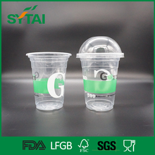Special design disposable plastic pudding cup