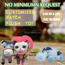 Wholesale Chinese New Year Gift Custom Plush Horse Toy Stuffed Animal Little Pony Toys