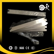 Progressive Horizontal Zig Zag Flow Wrapper Machine Knives
