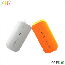 factory supply rechargeable 6600mah power bank for mobile phones