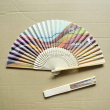 Bamboo products custom printed traditional hot sale folding fans