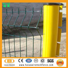 Powder coated galvanized welded wire mesh fence panels for sale
