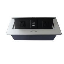 ZS06 Damped Desktop Socket with US power and USB charger