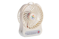 Long lifespan Battery Powered mini cpu cooling fan with LED light