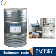 Manufacturer unsaturated polyester resin price for bathroom accesories products