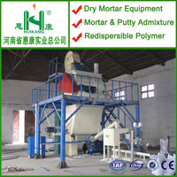 ceramic tile adhesive manufacturing plant,cement mortar mix plant,interior putty production plant manufacturer
