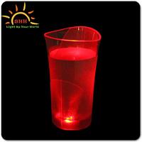 Customized Logo Bar led Flashing Cup for Festive Gift or Bar Party 2016