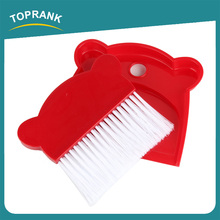 Toprank Household Kids Cleaning Tools Mini Broom And Dustpan Set Plastic Short Handle Broom For Table