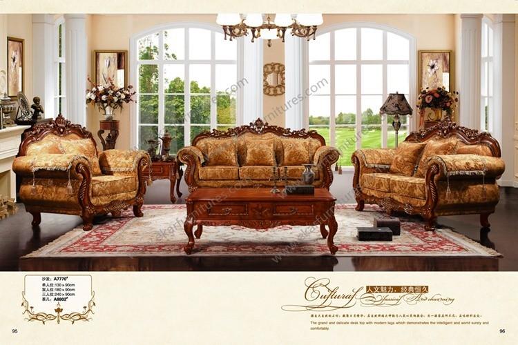 Juegos de sala de madera - Muebles antiguos de comedor ...