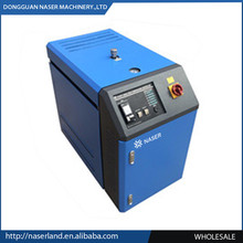 Quick water heating and cooling mold temperature control unit for injection machine