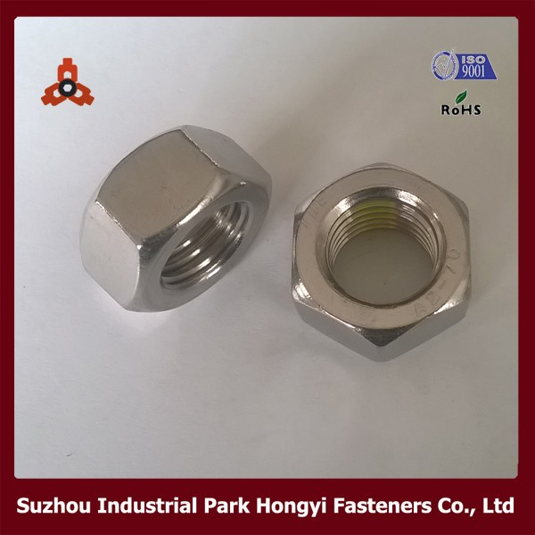 DIN934 SS304 A2-70 Hexagon Nut M20