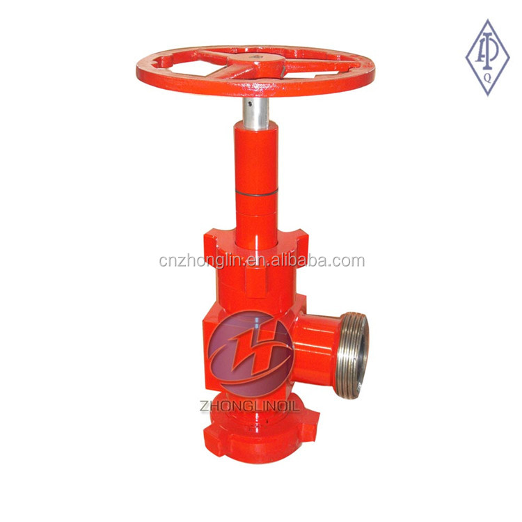 API 6A needle choke valve /H2 adjustable choke valve for wellhead manufactures manual operation