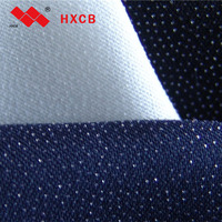 (8009)100% Polyester Printed Garment Interlining Thin Fusible Woven Lining