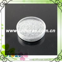 1/128 silver glitter powder for garment
