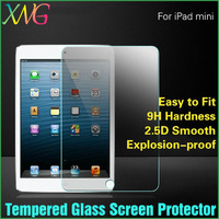 For ipadmini protective Guard Film Toughened glass Transparent 9h tempered glass screen protector For iPad mini 2 retina