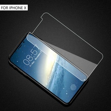 oem 2.5d 9h hardness cell phone tempered tampered glass screen protector for iphone xs max xr 7plus 8plus 7 8 6 6S